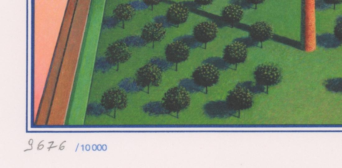Rudolph Hausner Signed Original Lithograph - 3