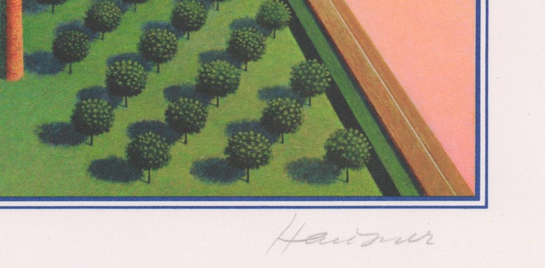 Rudolph Hausner Signed Original Lithograph - 4