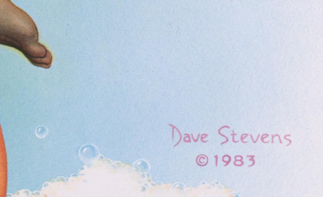 Dave Stevens Signed & Numbered Print - 5