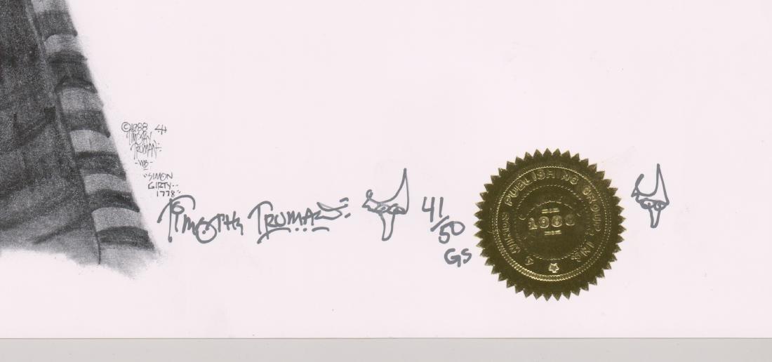 Timothy Truman Original Lithograph - 3