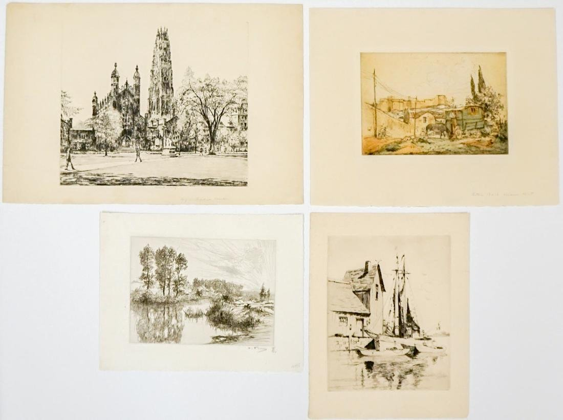 Four Etchings