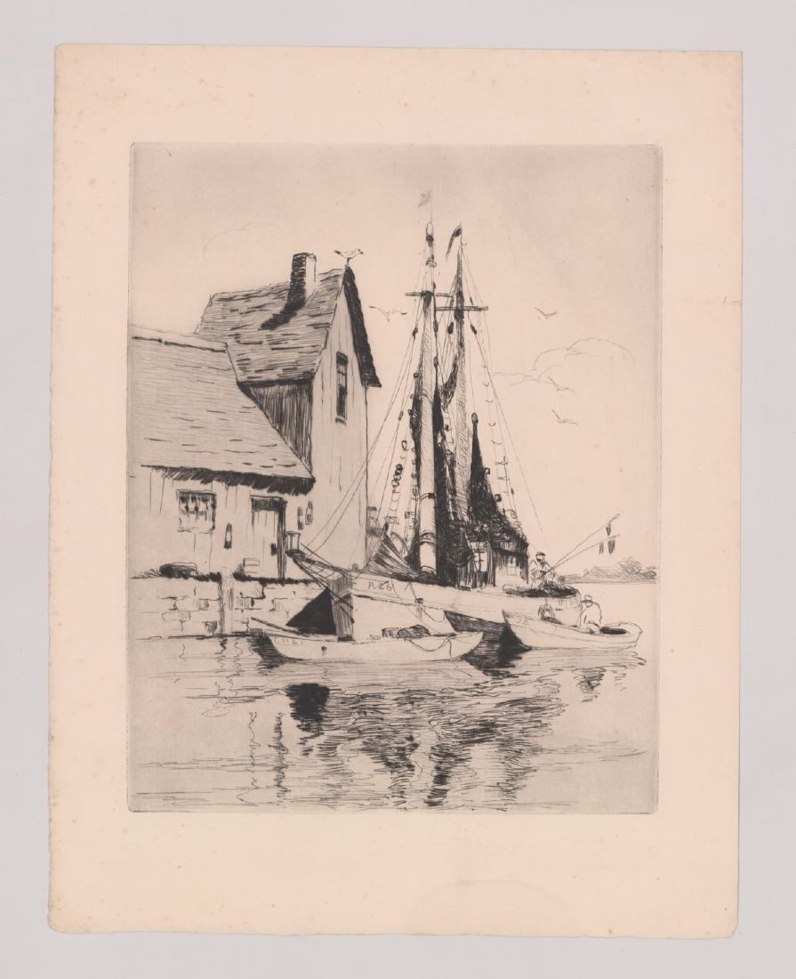 Four Etchings - 4