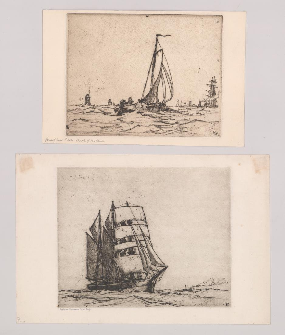 Nelson Dawson Group of Four Etchings - 2