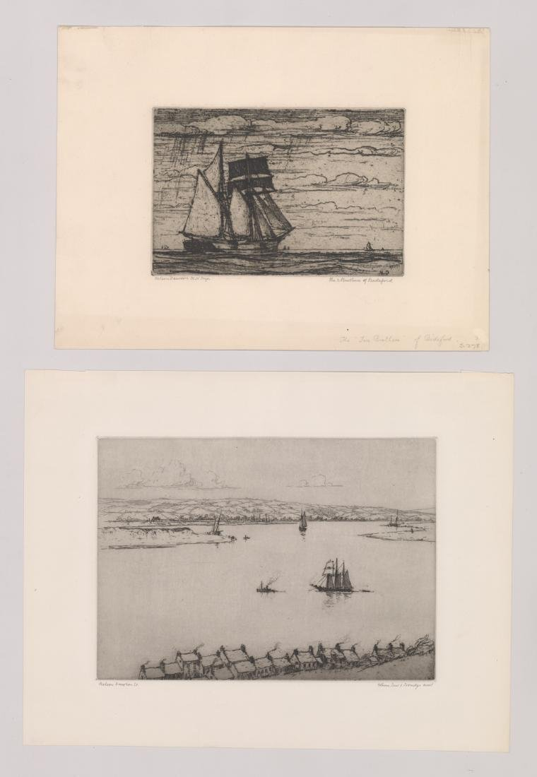 Nelson Dawson Group of Four Etchings - 3
