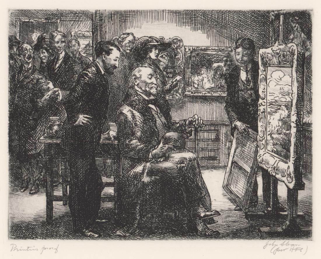 John Sloan Printer's Proof