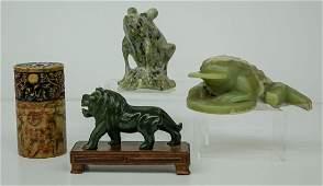 Chinese Jade and Stone Items