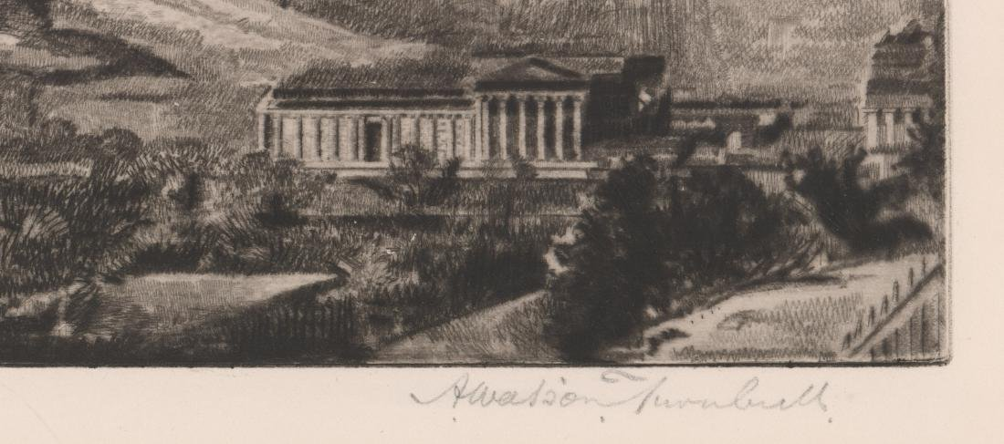 Andrew Watson Turnbull Signed Etching - 3