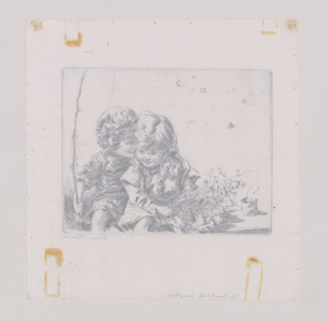Diana Thorne Signed Etching - 4