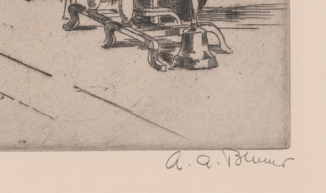 Alexander A. Blum Signed Etching - 3