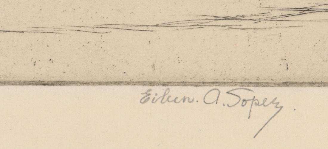 Eileen A. Soper Signed Etching - 3