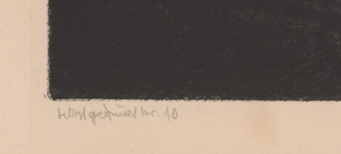 L. Thieme Signed Etching - 4