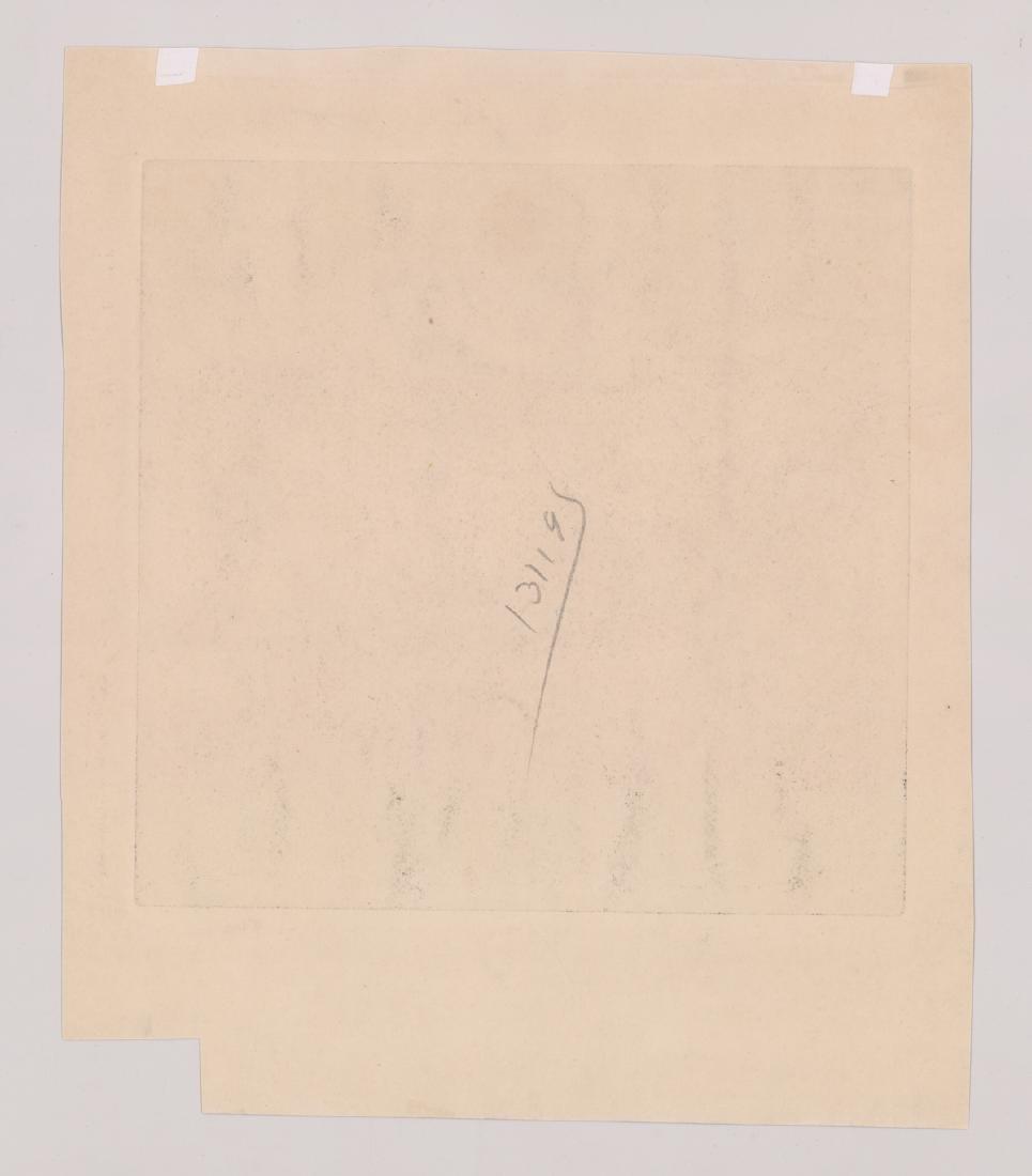 L. Thieme Signed Etching - 5