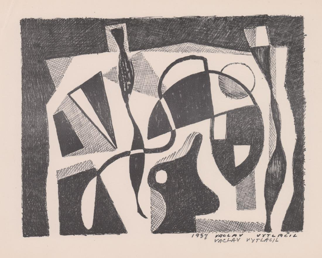 Vaclav Vytlacil Signed Lithograph