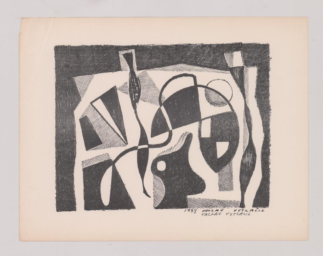 Vaclav Vytlacil Signed Lithograph - 2