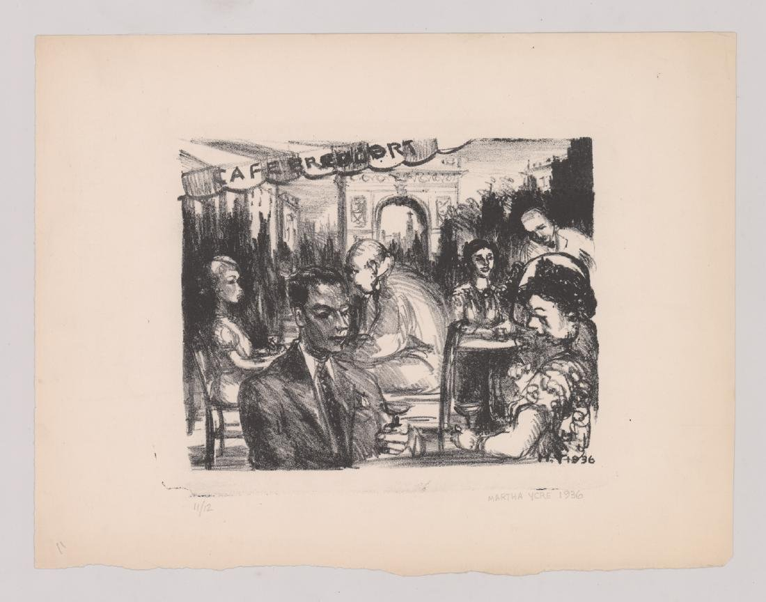 Eight Lithographs by Various Artists - 8