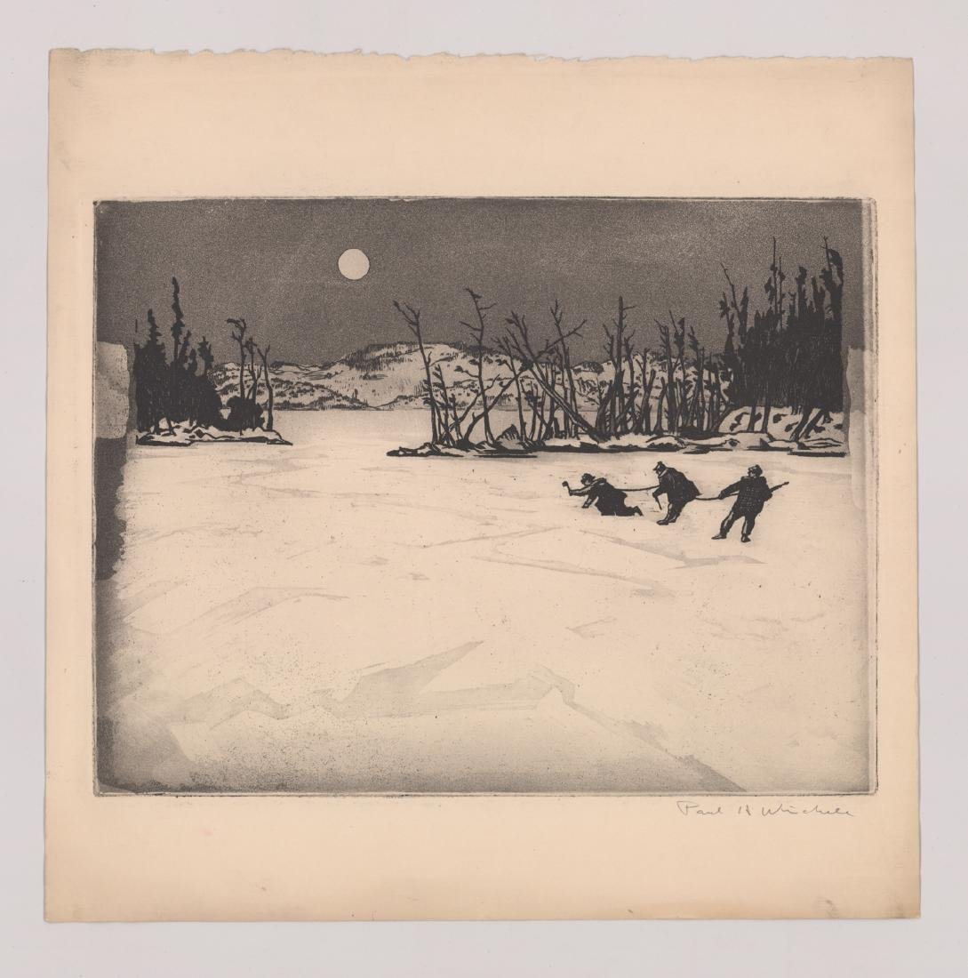 Seven Paul H. Winchell Signed Etchings - 5