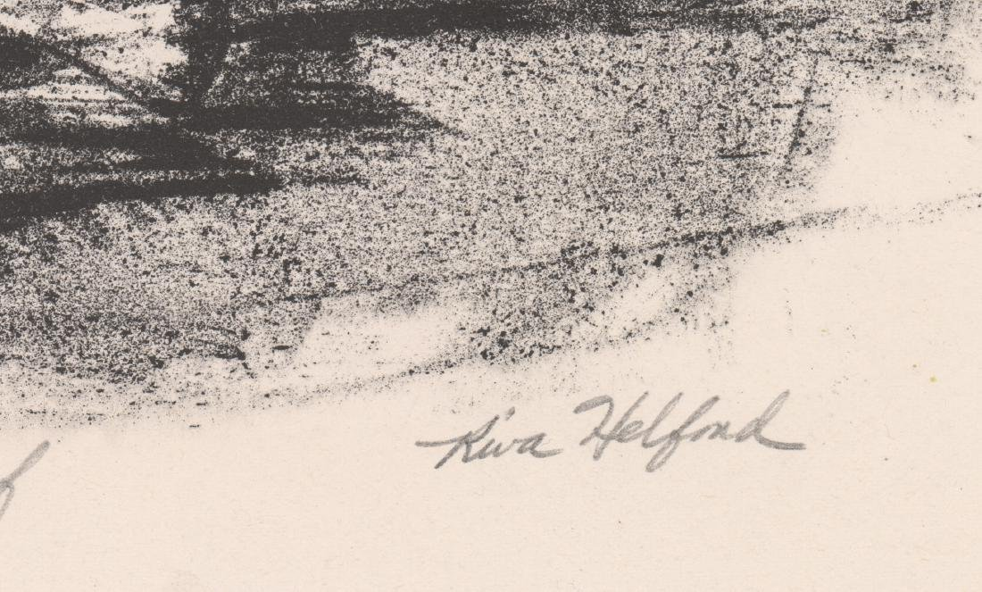 Riva Helfond Signed A.P. Lithograph - 3