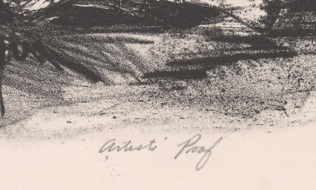 Riva Helfond Signed A.P. Lithograph - 4