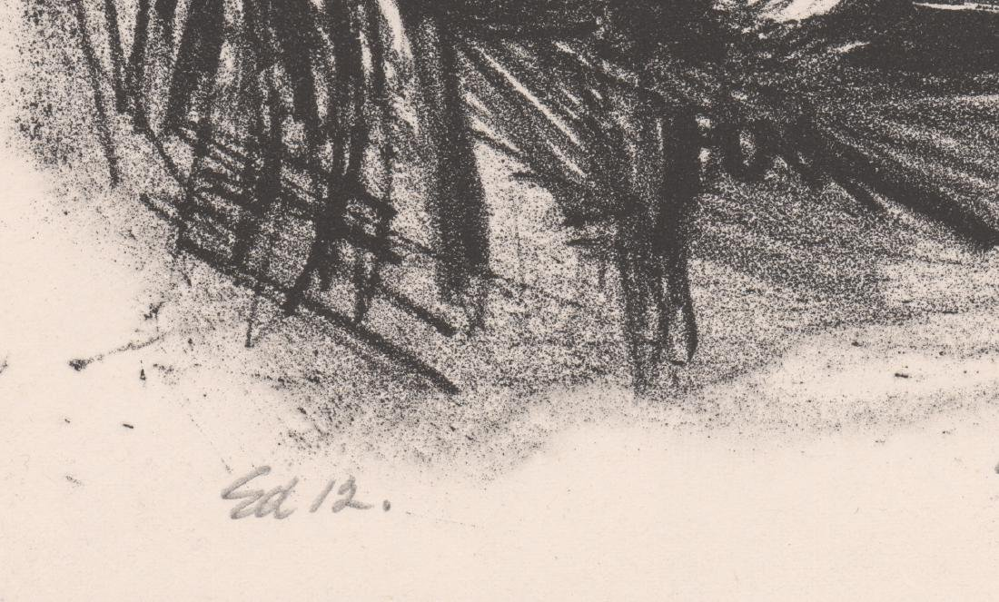 Riva Helfond Signed A.P. Lithograph - 5