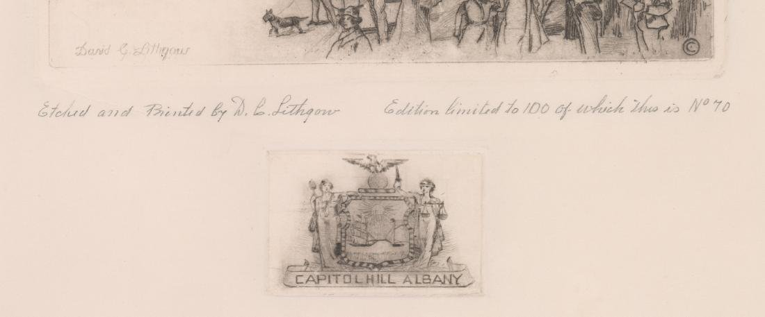 David Cunningham Lithgow Signed Etching - 3
