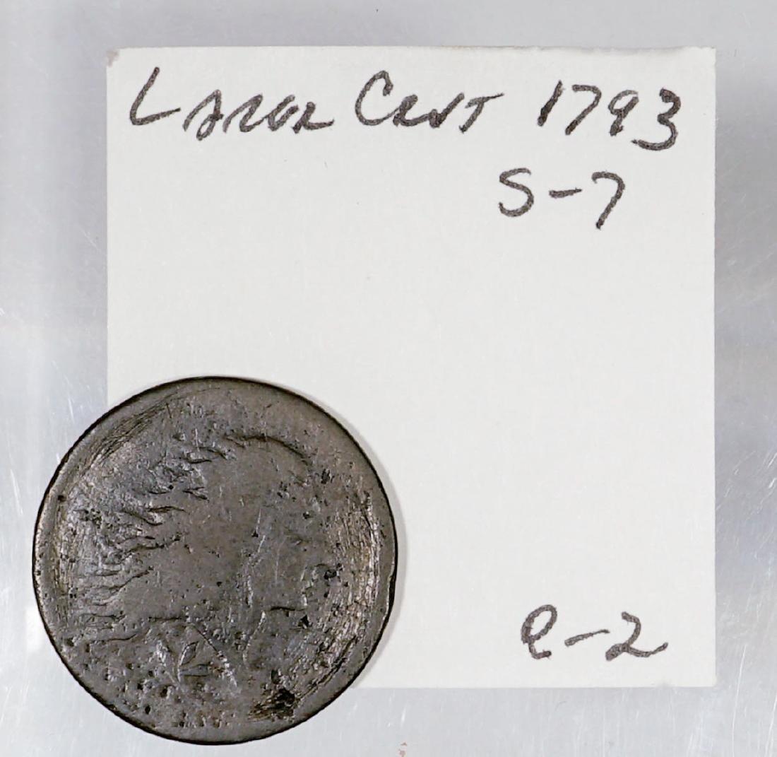 U.S. 1793 1C S-7 R-2 Coin - 3