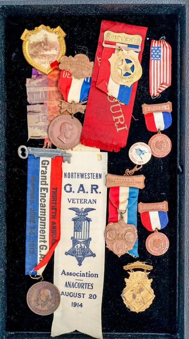 Group of GAR Medals