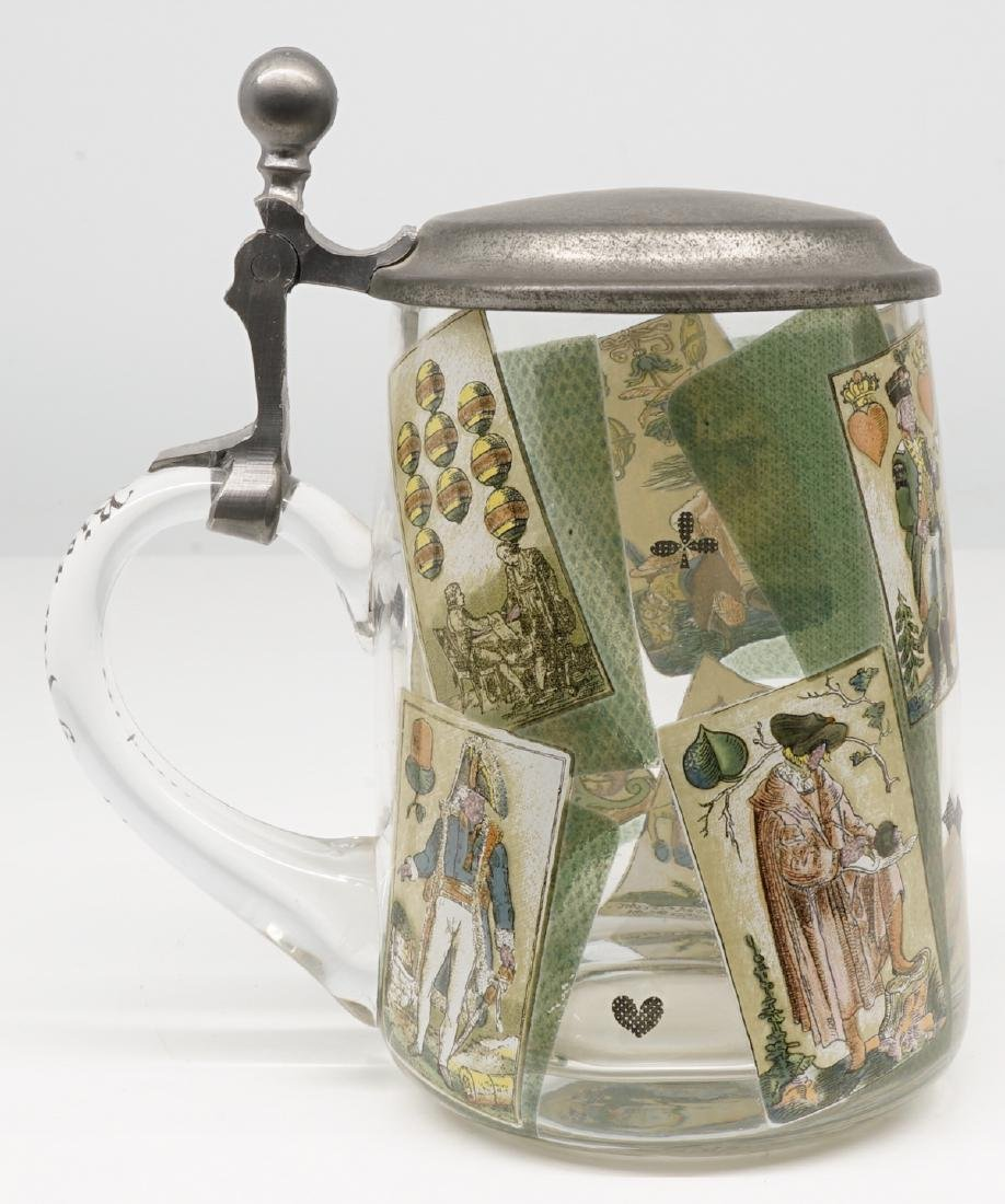 Antique Wood Tankards, Steins and Flask - 2