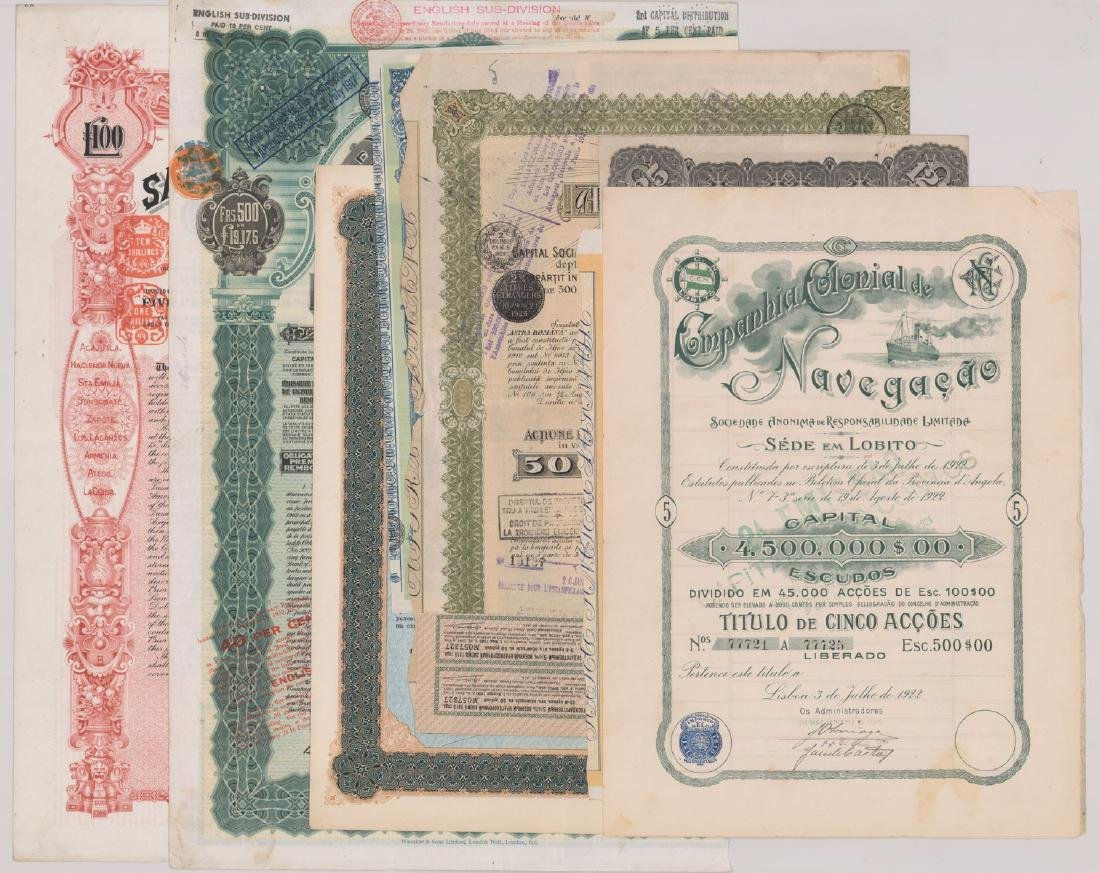 Foreign Stock Certificates (9)