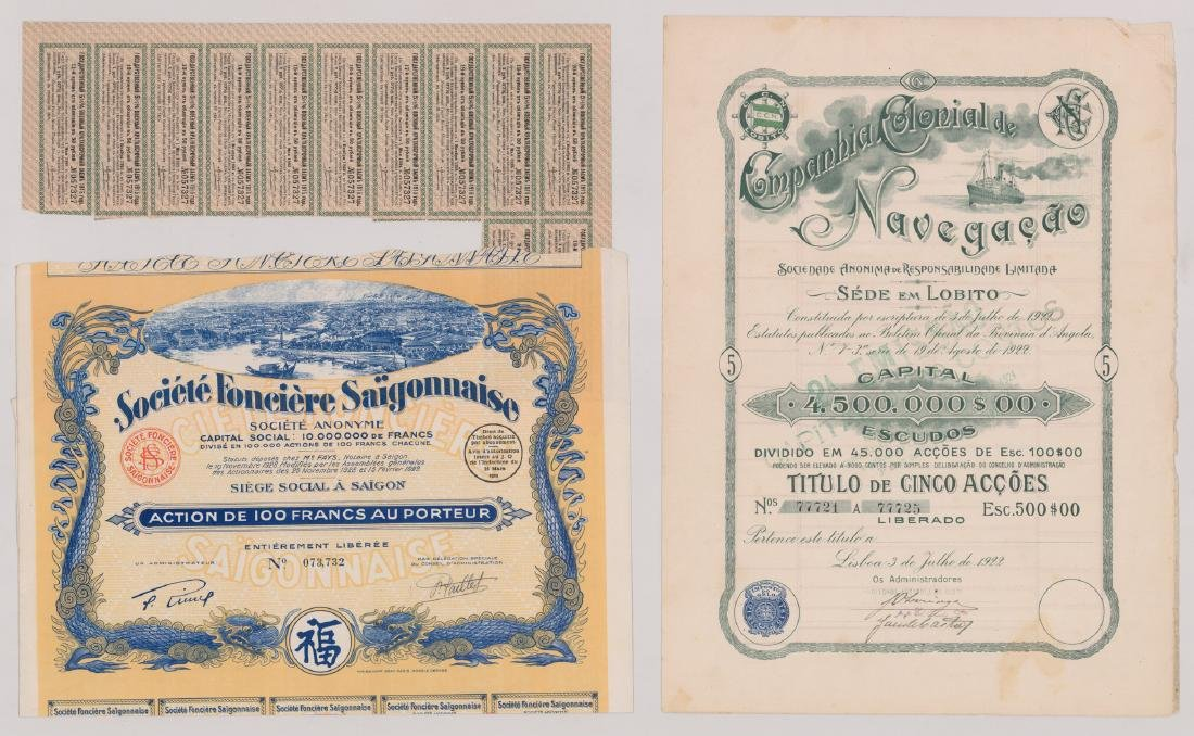 Foreign Stock Certificates (9) - 2