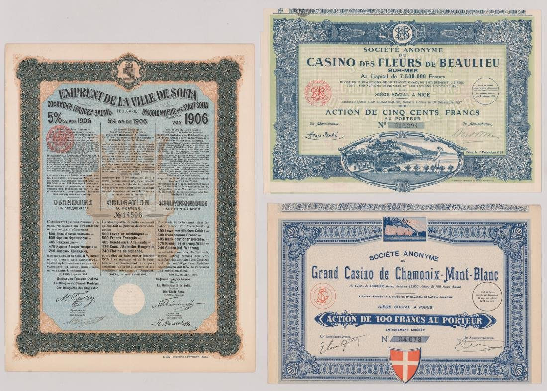 Foreign Stock Certificates (9) - 4