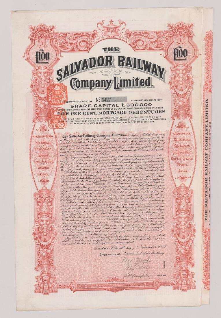 Foreign Stock Certificates (9) - 6