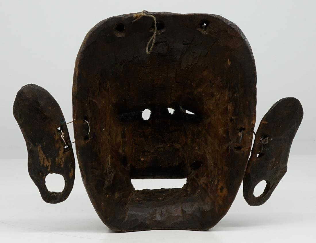 Two Southeast Asian Carved Wood Masks - 5