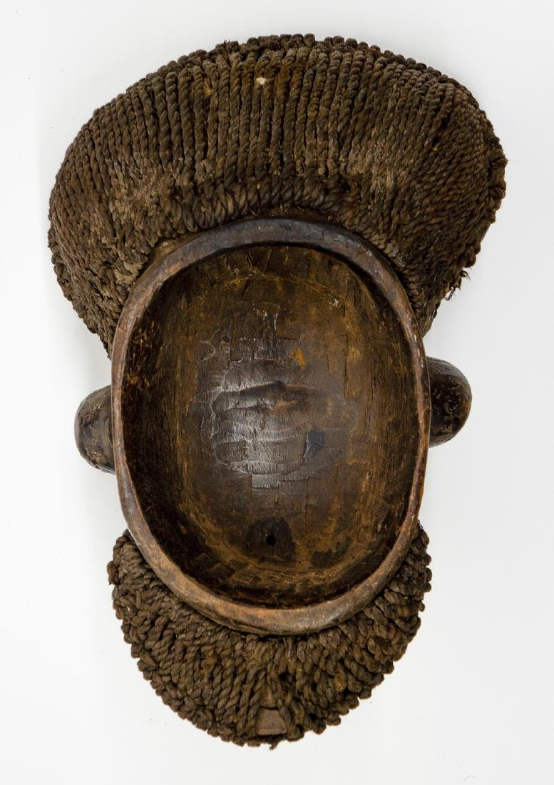 Kom Akam Wooden Cap Mask from Cameroon - 2