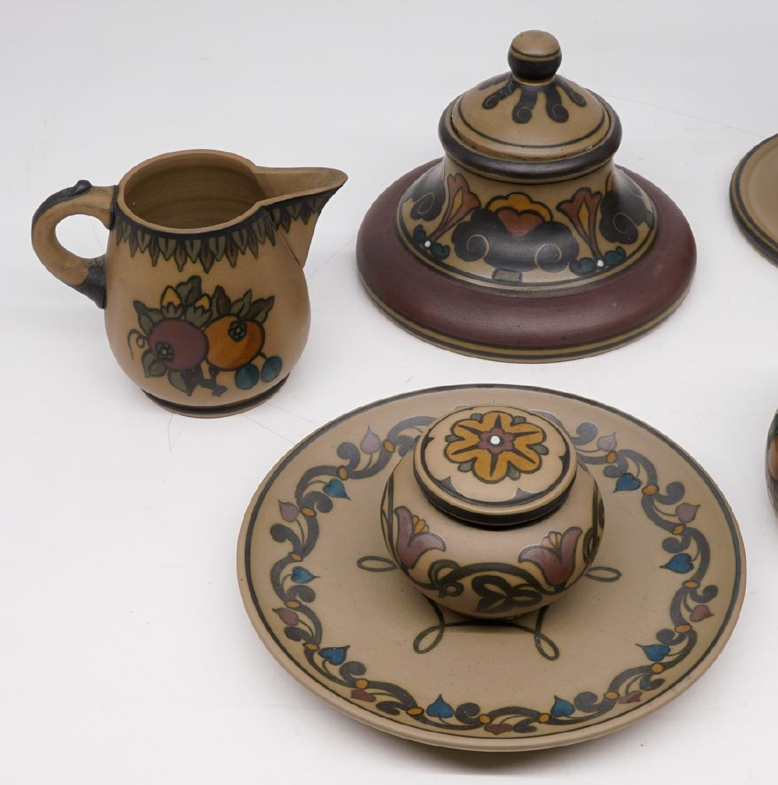 Group of Hjorth Denmark Art Pottery - 2