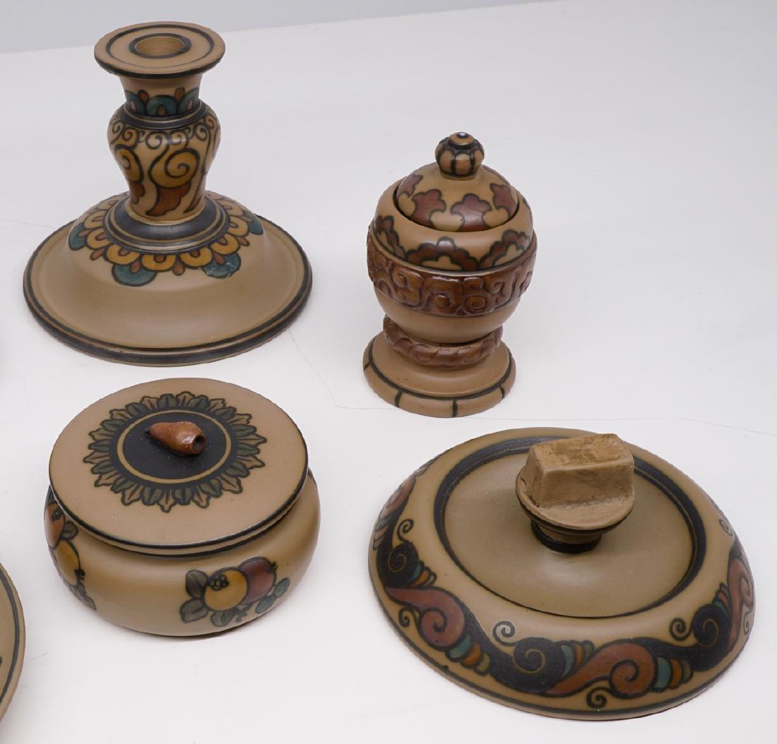 Group of Hjorth Denmark Art Pottery - 3