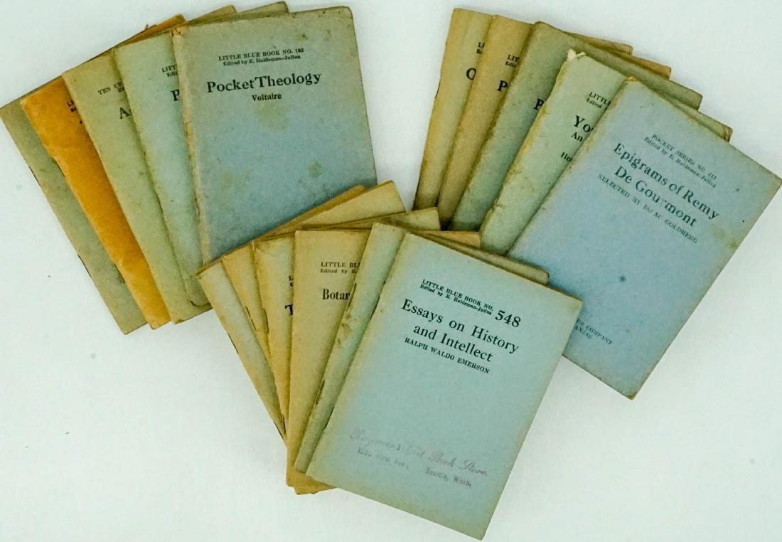 (16) Little Blue Books Haldeman-Julius Co.