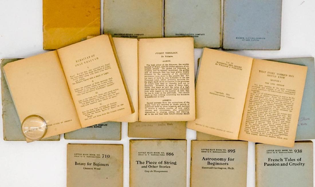 (16) Little Blue Books Haldeman-Julius Co. - 3