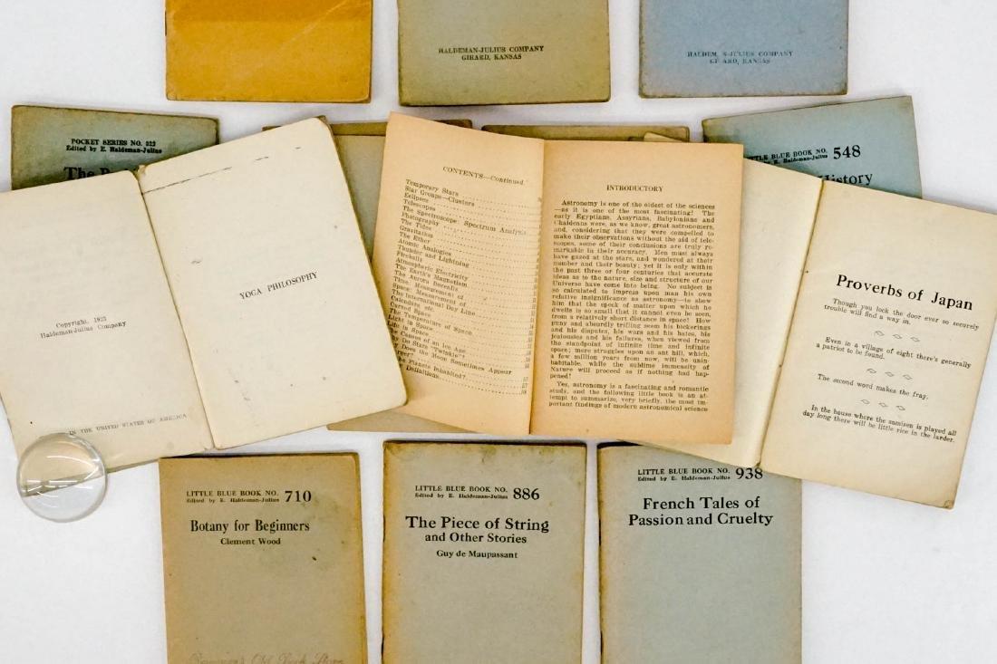 (16) Little Blue Books Haldeman-Julius Co. - 4