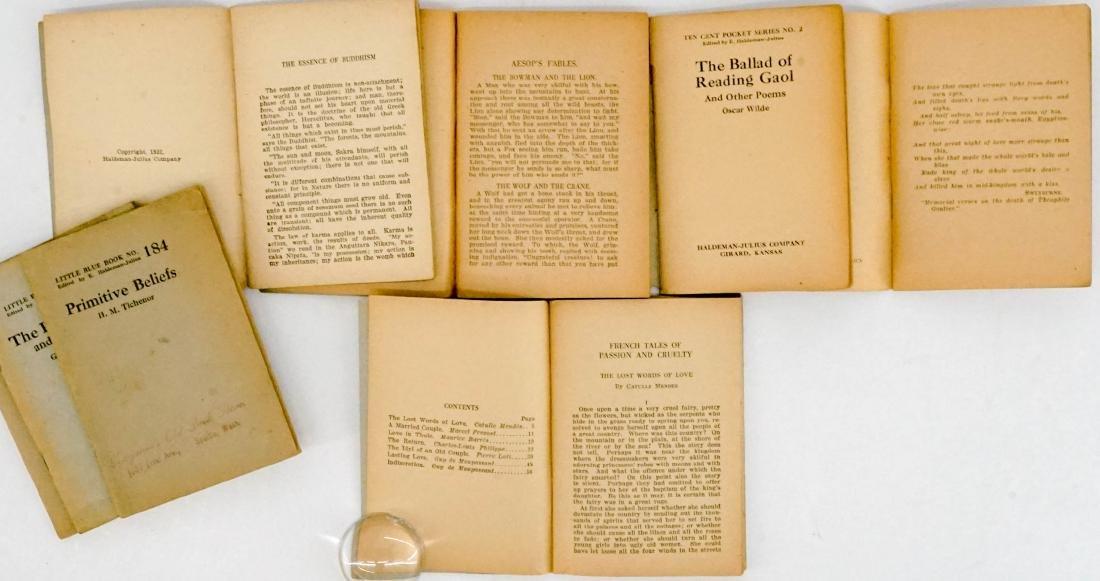 (16) Little Blue Books Haldeman-Julius Co. - 5
