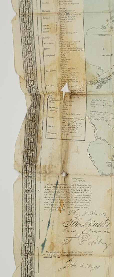 De Cordova's Map of the State of Texas, 1856 - 3