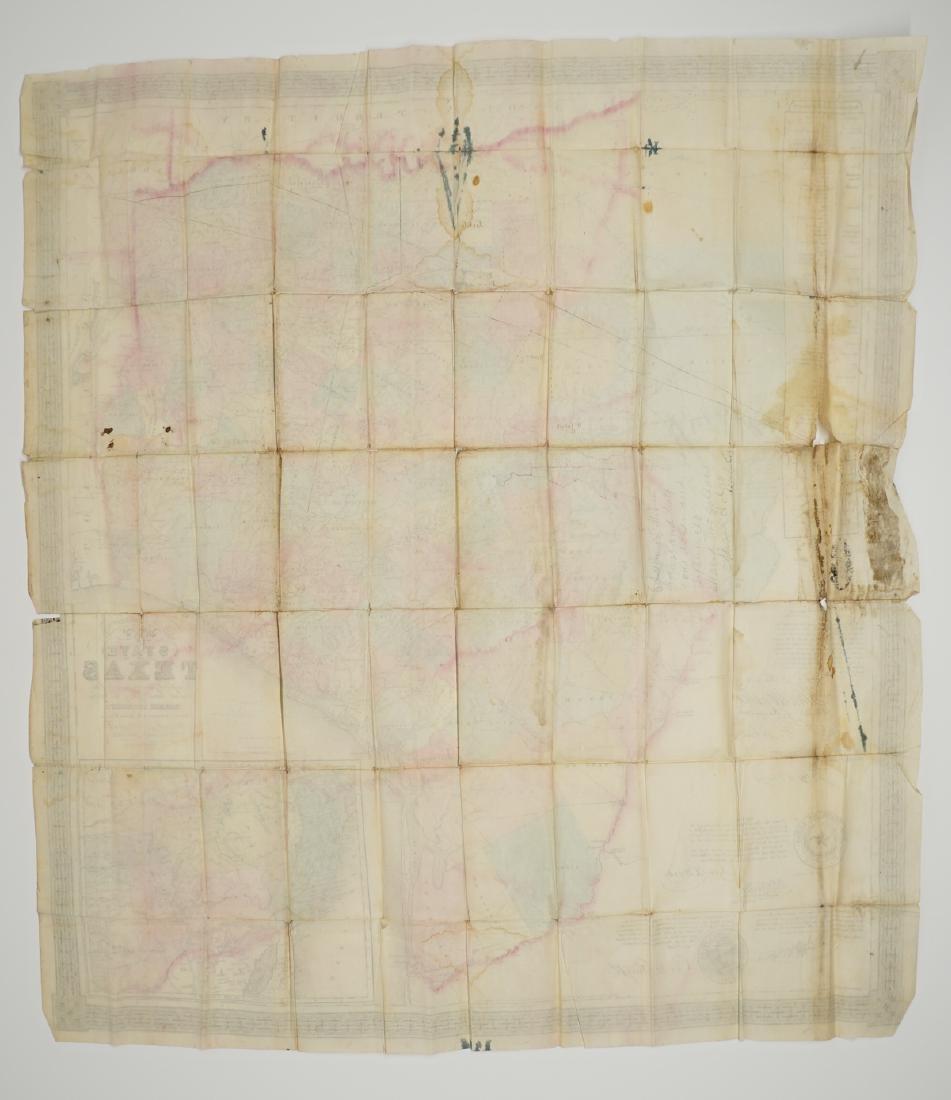 De Cordova's Map of the State of Texas, 1856 - 5