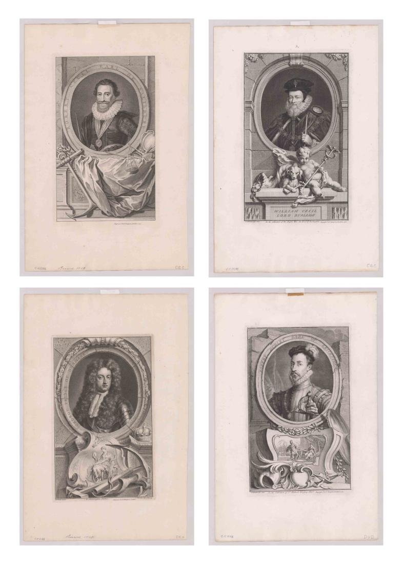 Ca.1743 Engravings Illustrious Persons GB (4)