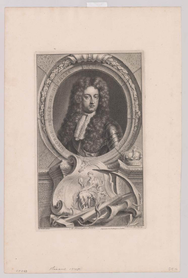 Ca.1743 Engravings Illustrious Persons GB (4) - 2