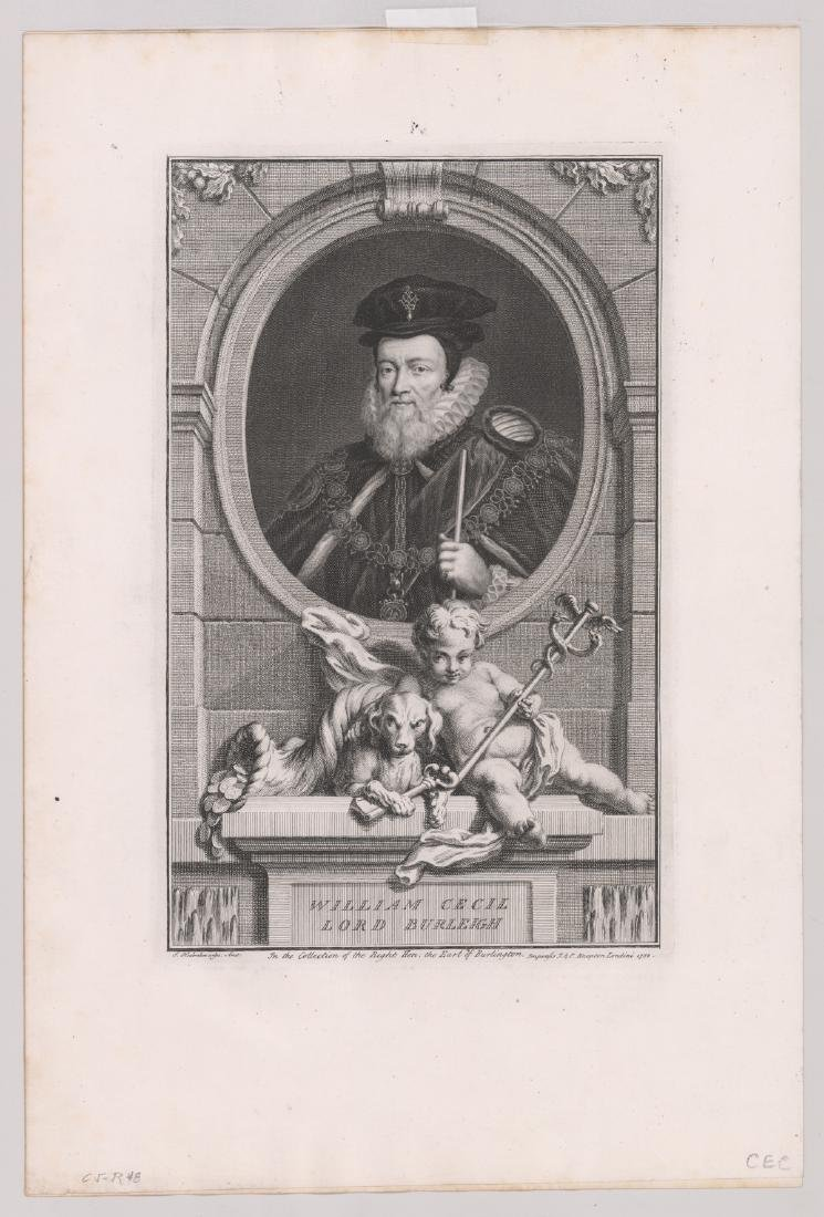Ca.1743 Engravings Illustrious Persons GB (4) - 3