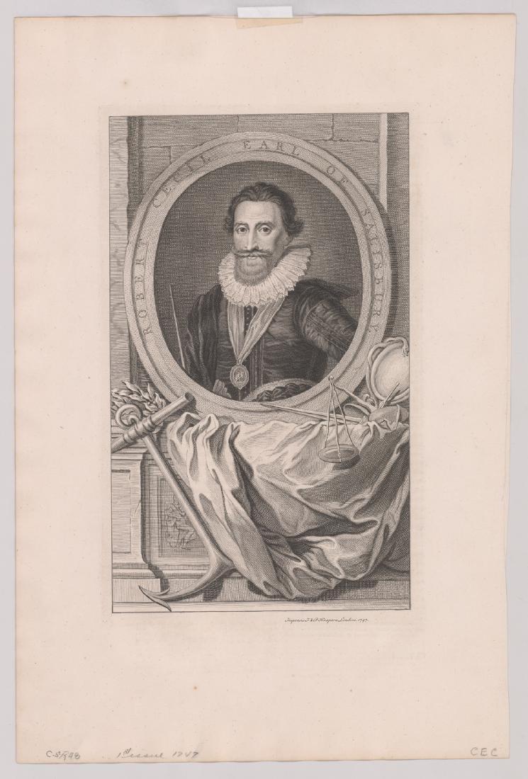 Ca.1743 Engravings Illustrious Persons GB (4) - 4