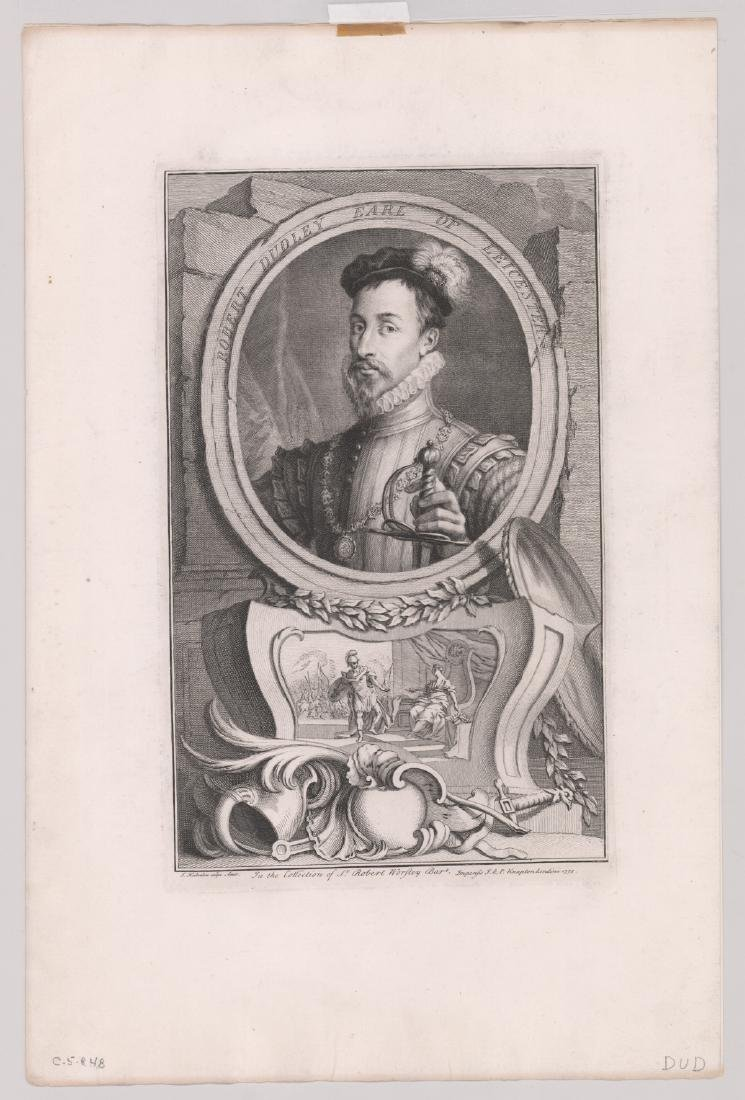 Ca.1743 Engravings Illustrious Persons GB (4) - 5