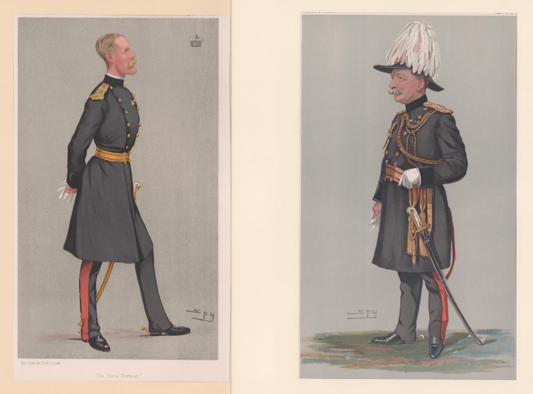 1880 - 1904 Vanity Fair Prints Military ( 8) - 2