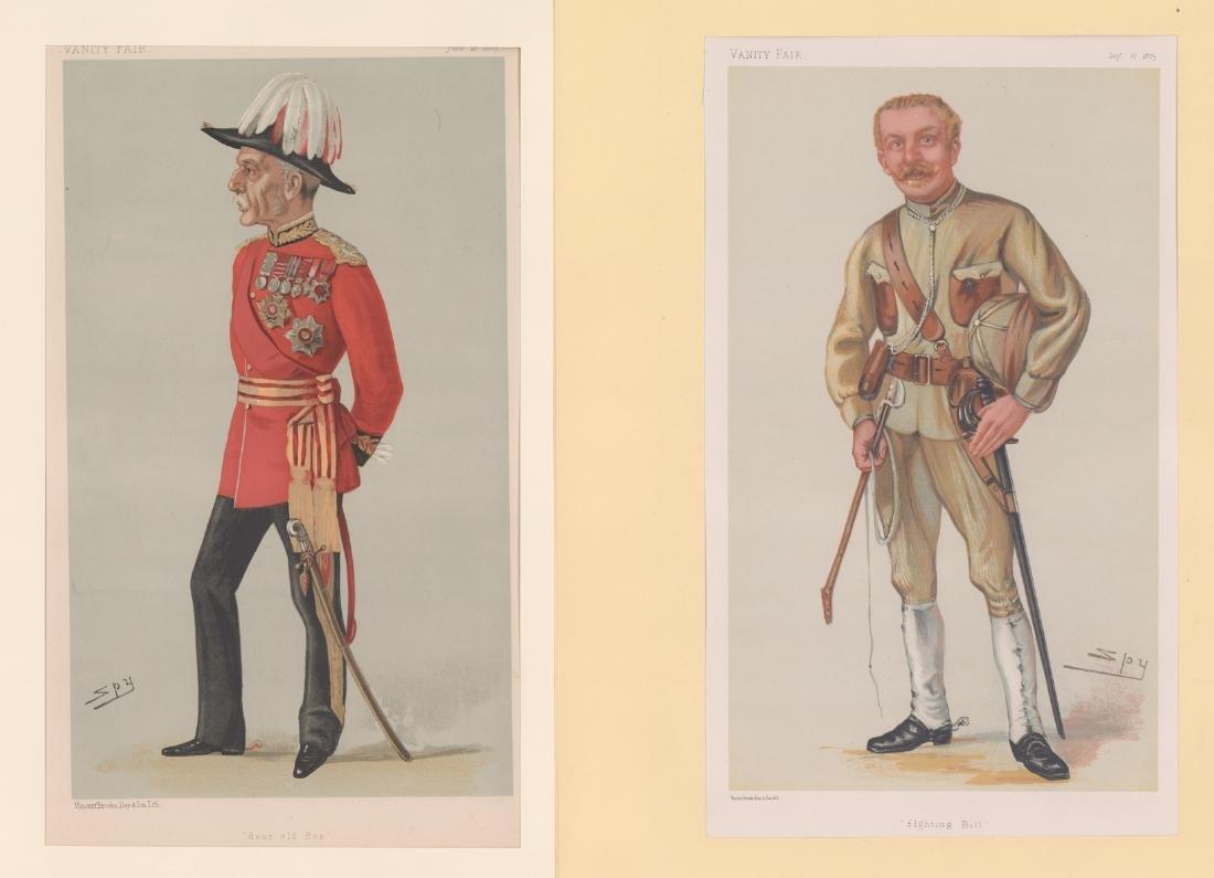 1880 - 1904 Vanity Fair Prints Military ( 8) - 5