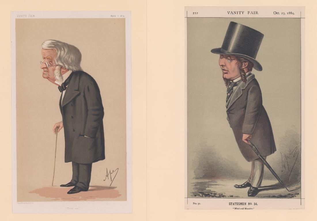 1869 - 1874 Vanity Fair Prints Politicians (8) - 2