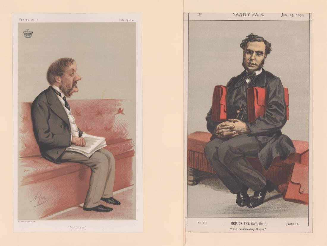 1869 - 1874 Vanity Fair Prints Politicians (8) - 3